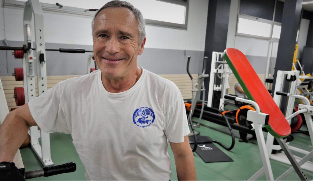 le responsable de la musculation a nimes handisport