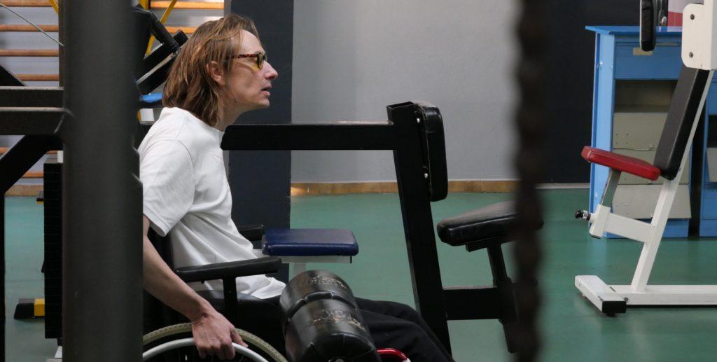 sebastien, en salle de musculation